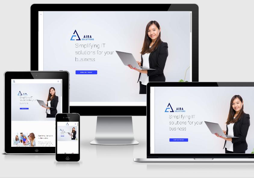 Website Development – Aira Solutions