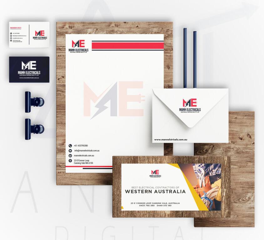 Branding – Mann Electricals