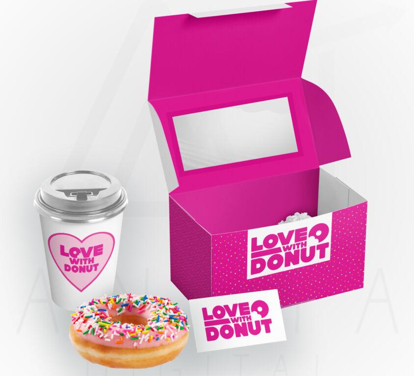 Branding – Love With Donut