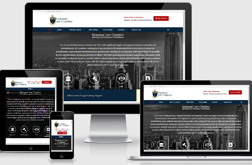 Website Development – Khatanas' Law Chamber