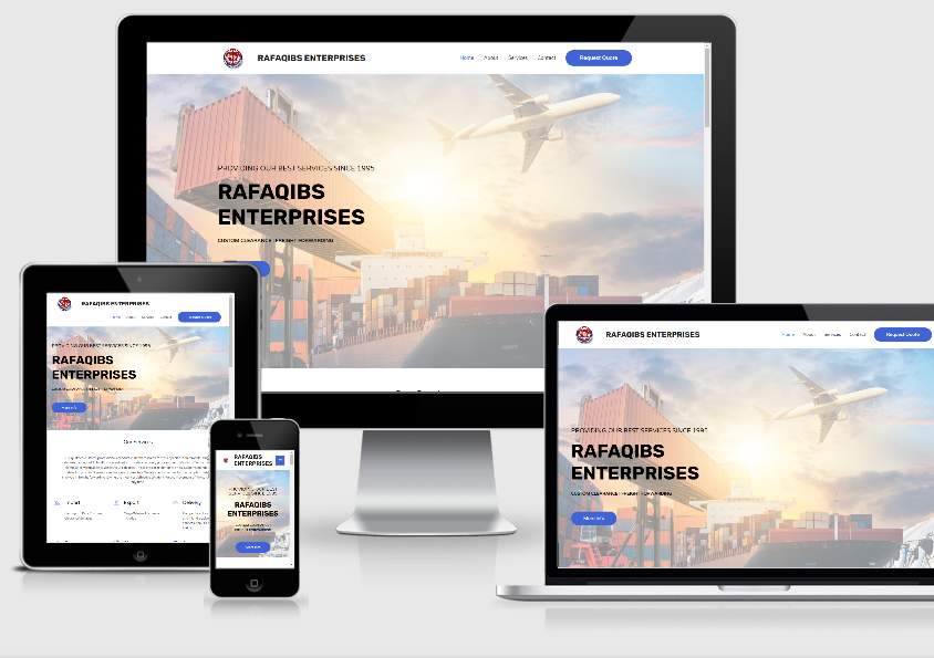 Website Development – Rafaqibs