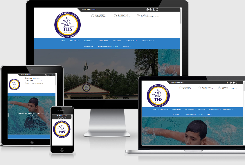 Website Development – Thanet Hall School