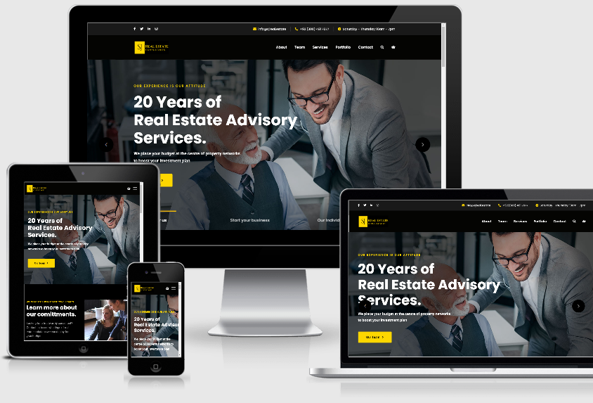 Website Development – SJ Real Estate