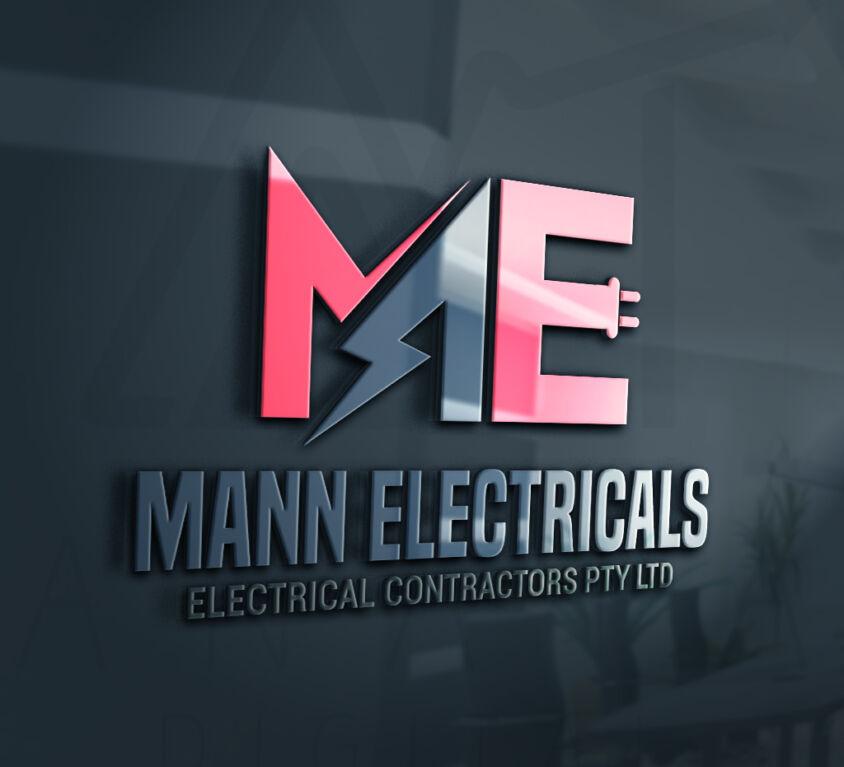 mann electrical logo